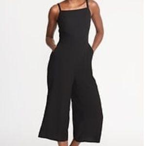 Square-neck 🔥 wide-leg 🔥 summer jumpsuit!